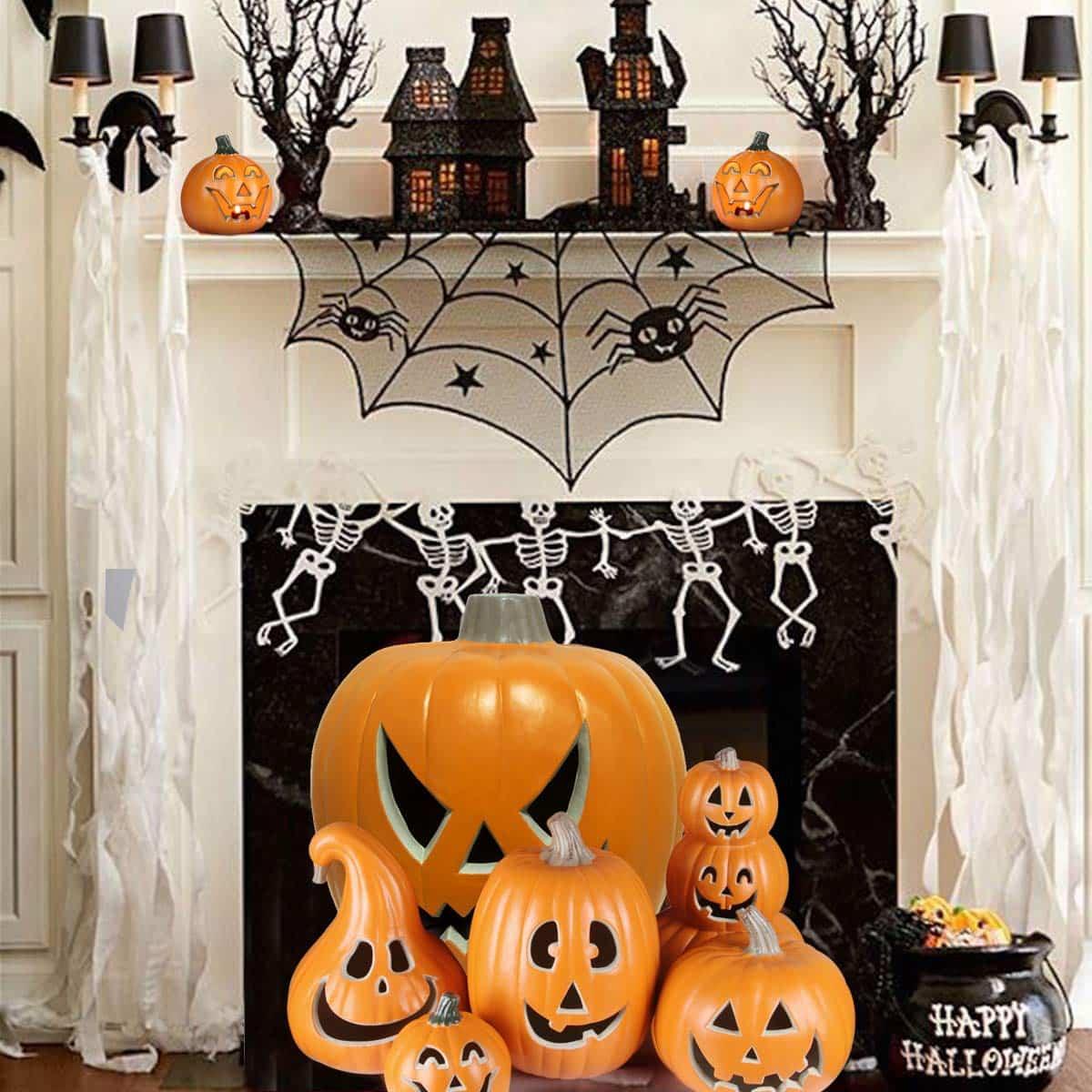 como decorar la casa para la fiesta de halloween 15