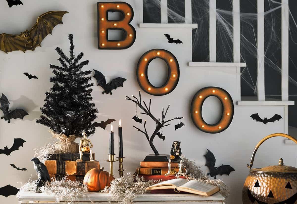 como decorar la casa para la fiesta de halloween 2