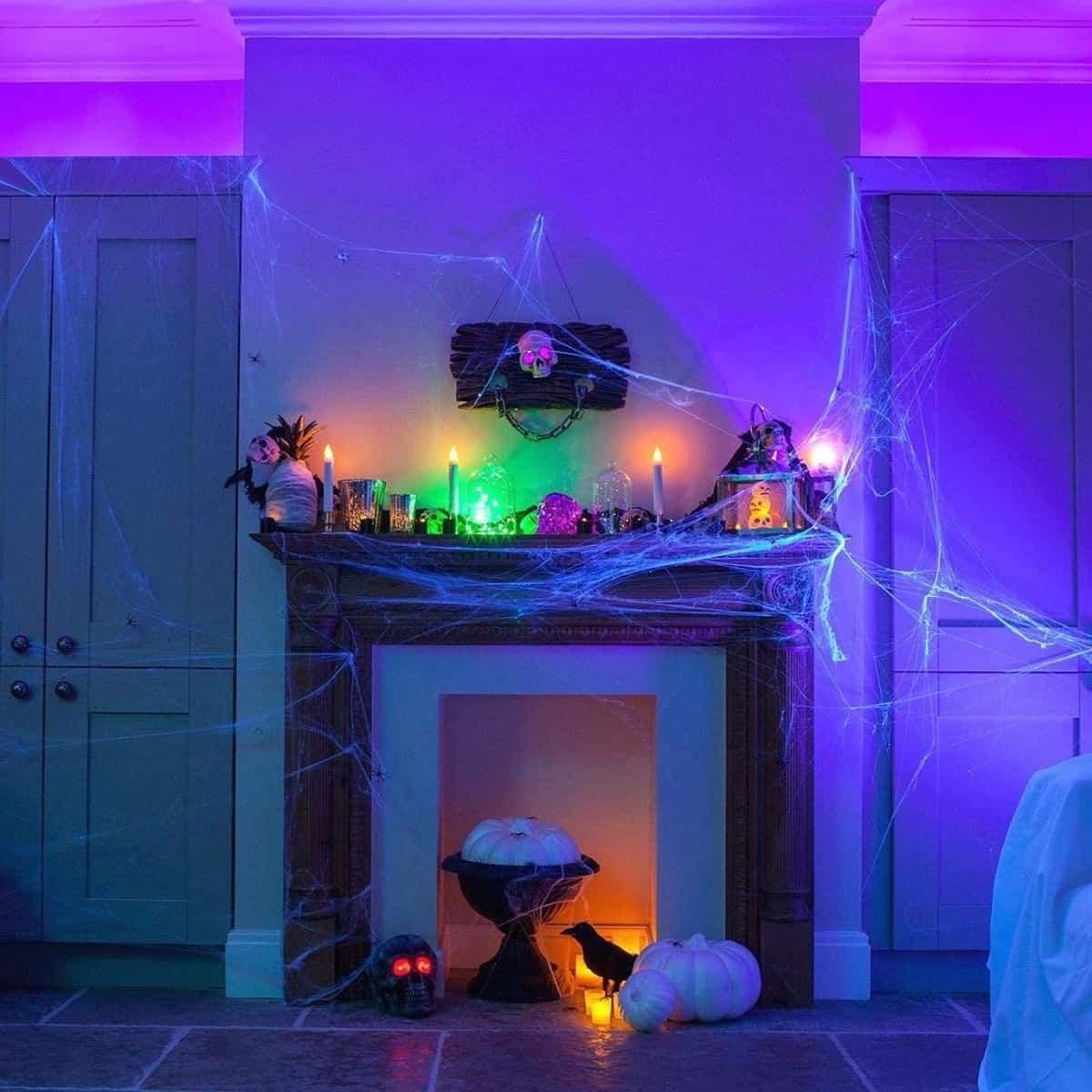 como decorar la casa para la fiesta de halloween 4