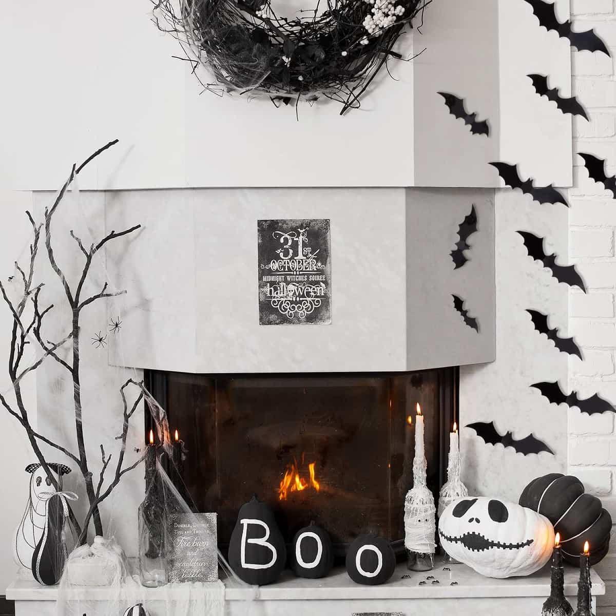 como decorar la casa para la fiesta de halloween 5