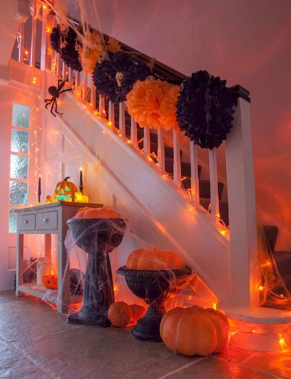 como decorar la casa para la fiesta de halloween 9
