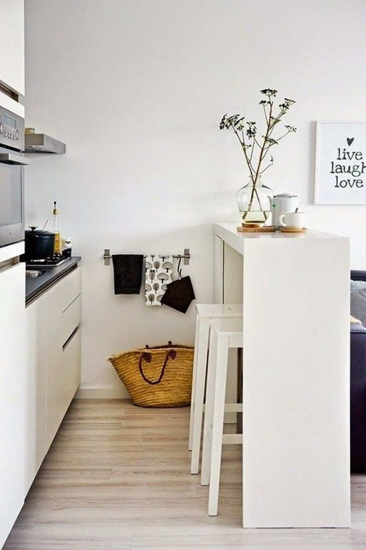 como crear una zona de desayuno en la cocina 3