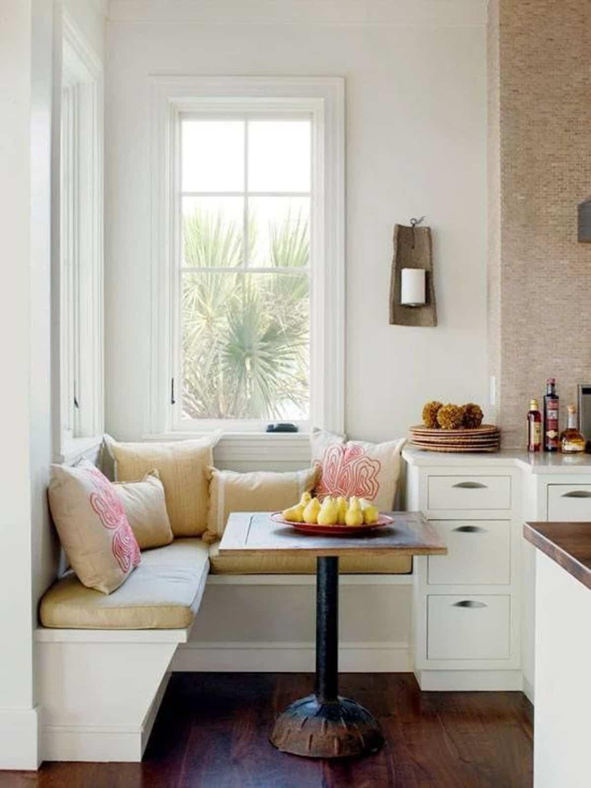 como crear una zona de desayuno en la cocina 9
