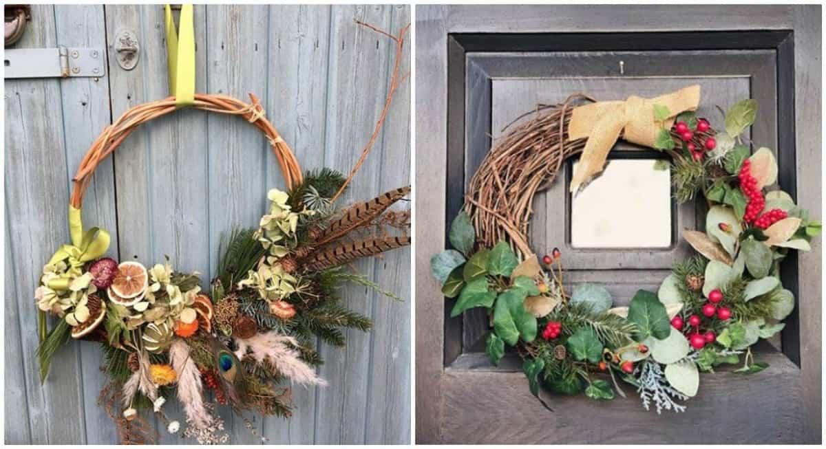 decoracion navidena de estilo rustico 10