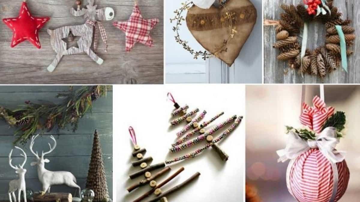 decoracion navidena de estilo rustico 11