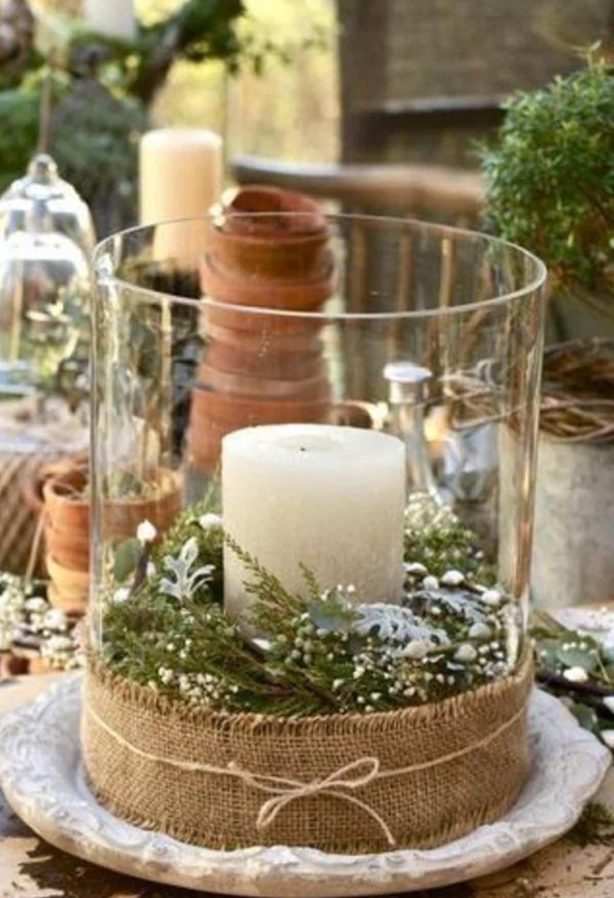 decoracion navidena de estilo rustico 15