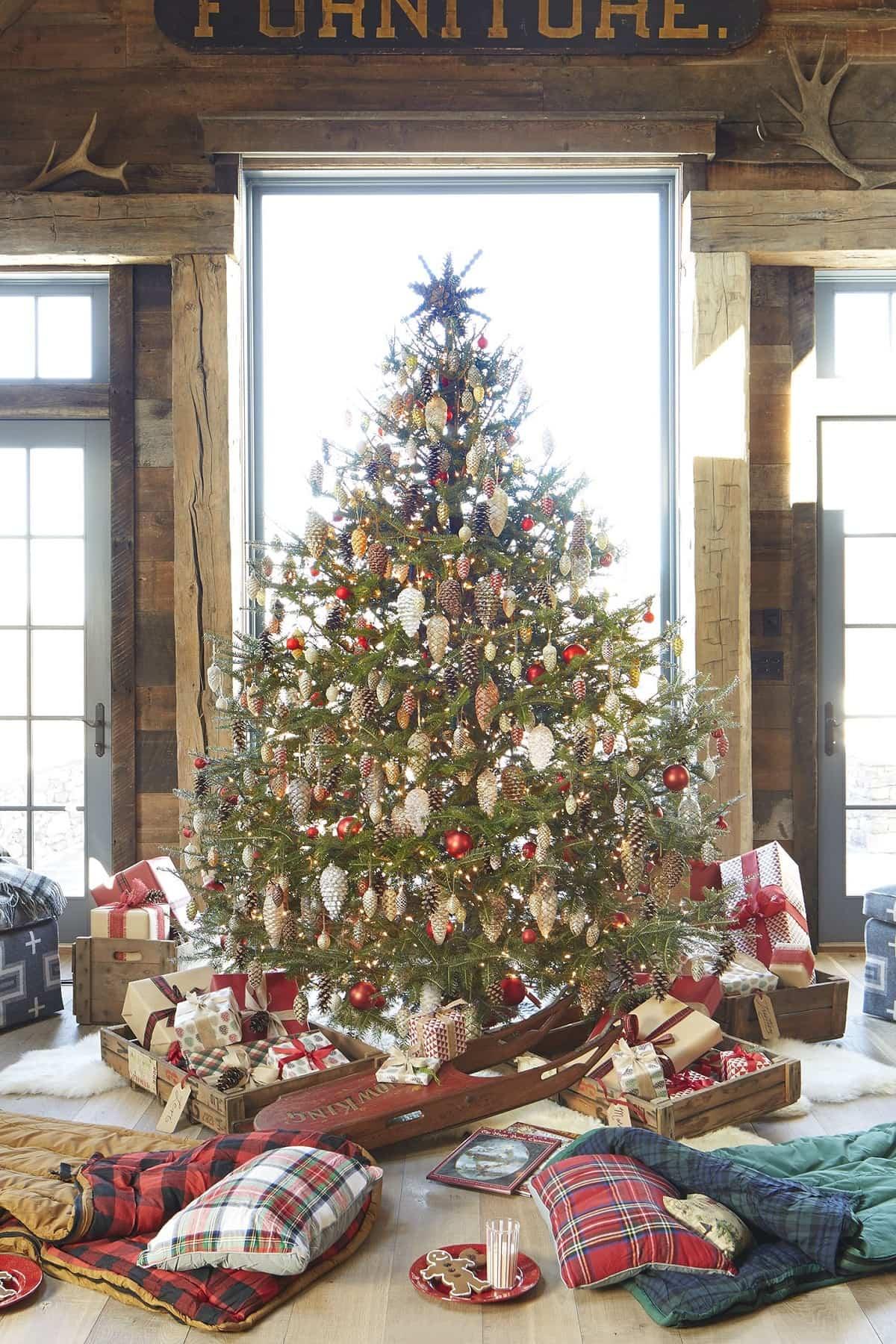 decoracion navidena de estilo rustico 4