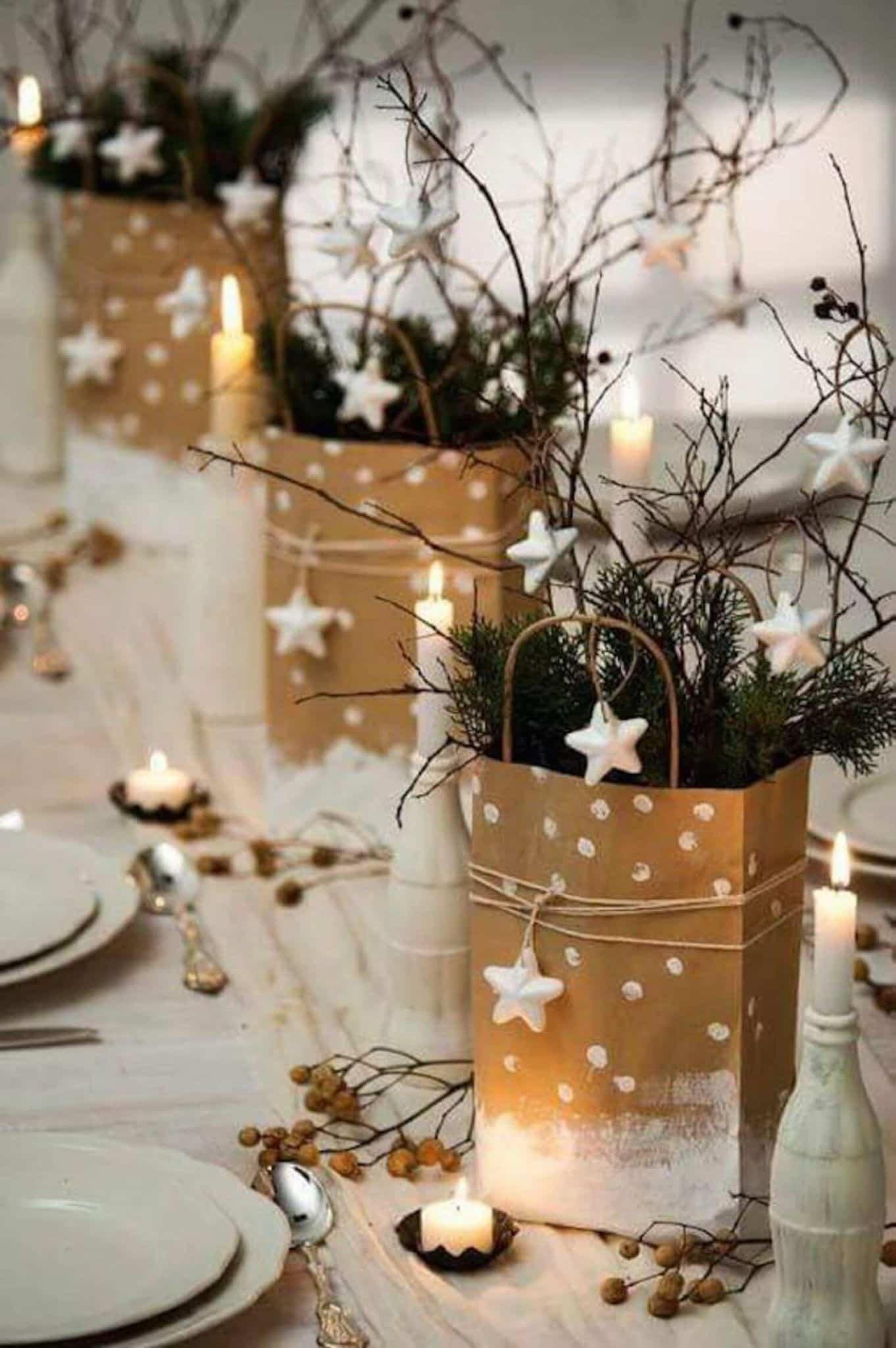 decoracion navidena de estilo rustico 7