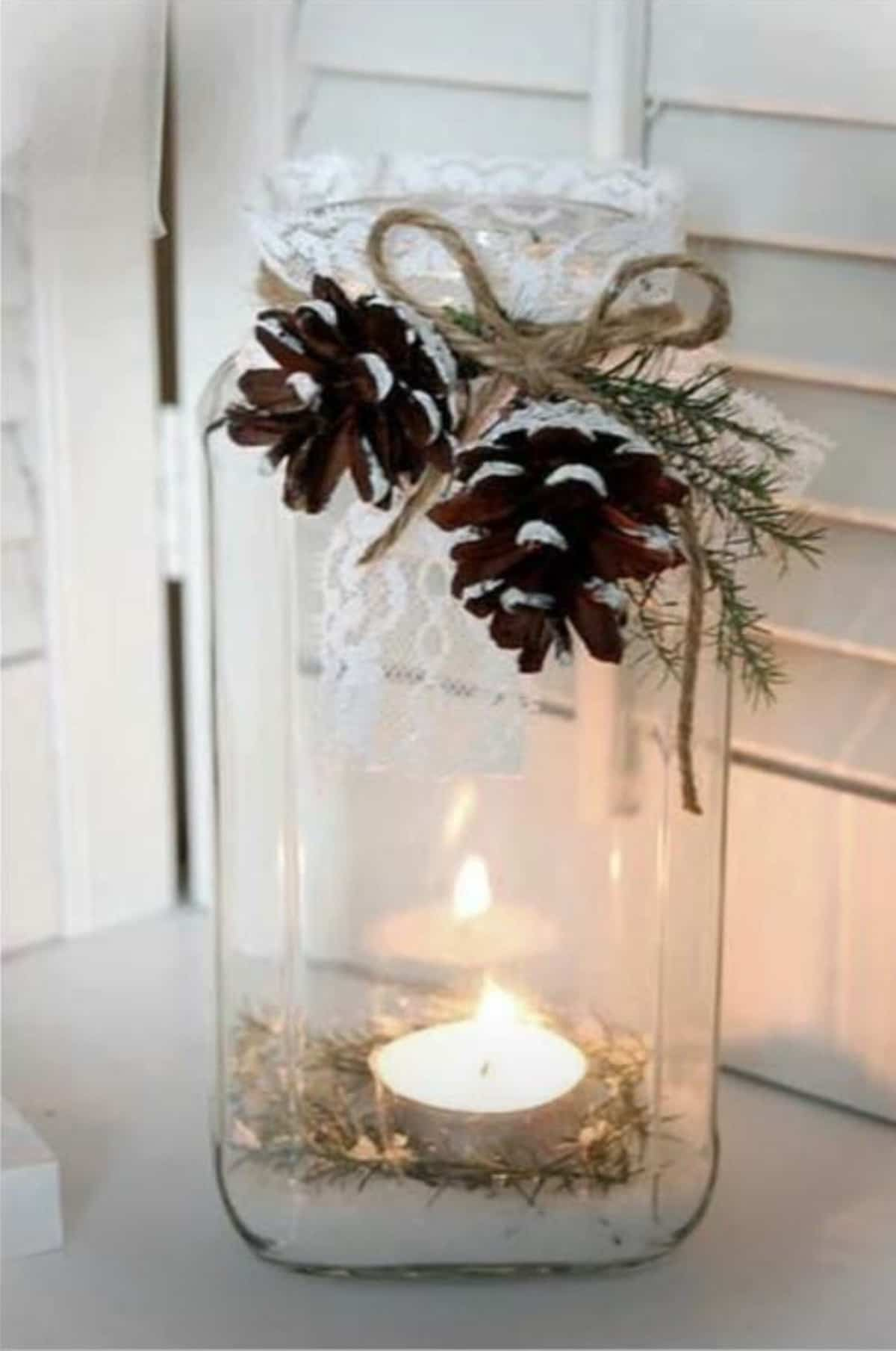 decoracion navidena de estilo rustico 9