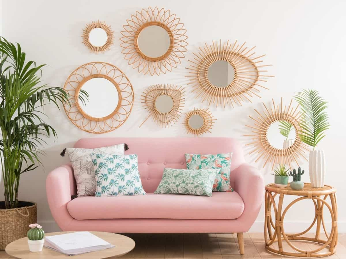 ideas para decorar la pared del sofa 1