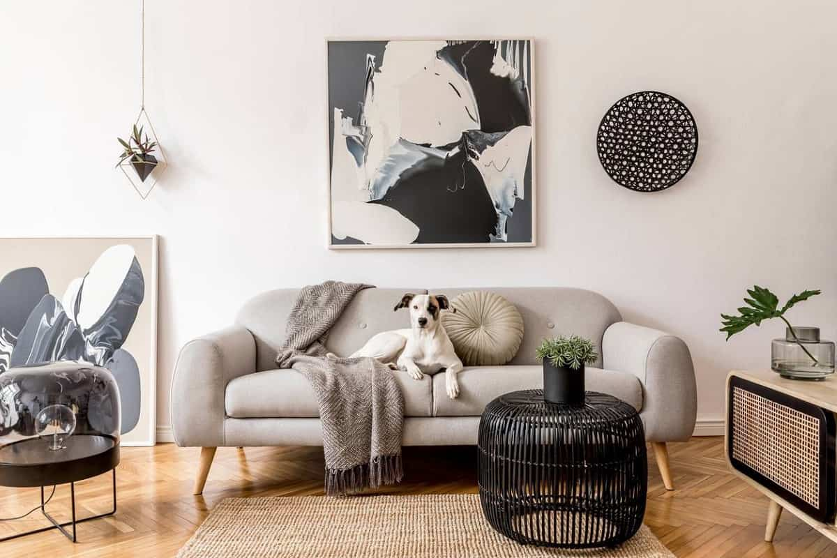 ideas para decorar la pared del sofa 11