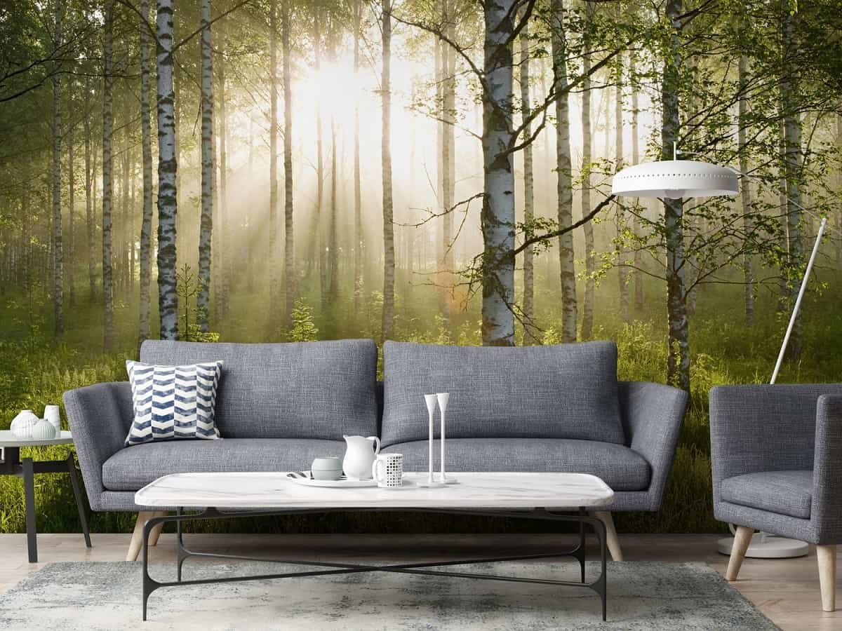 ideas para decorar la pared del sofa 14