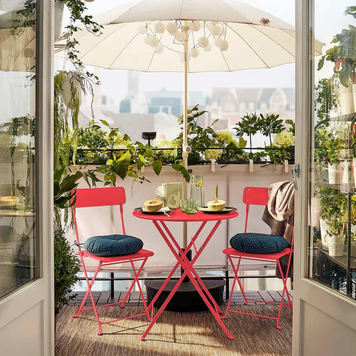 ideas para preparar un comedor de exterior en la terraza 12