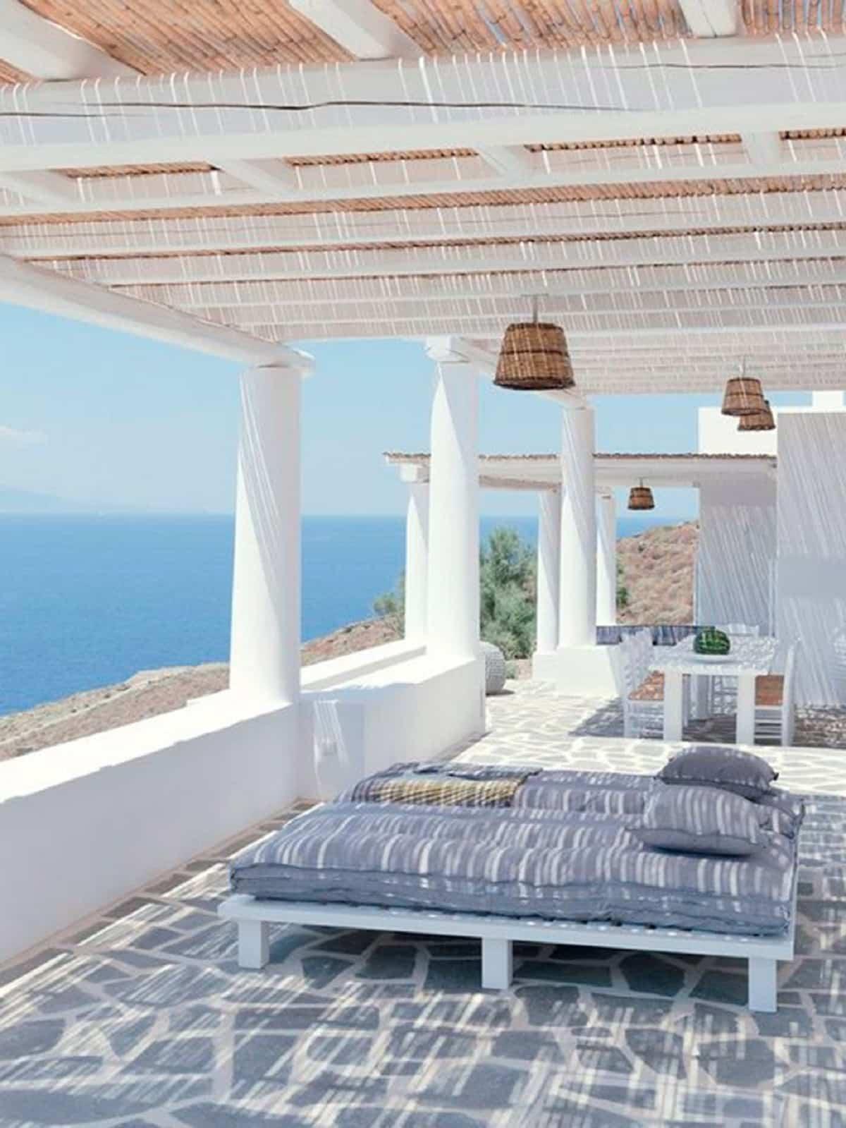 ideas para preparar un comedor de exterior en la terraza 13