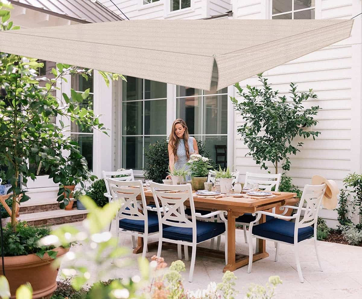 ideas para preparar un comedor de exterior en la terraza 2