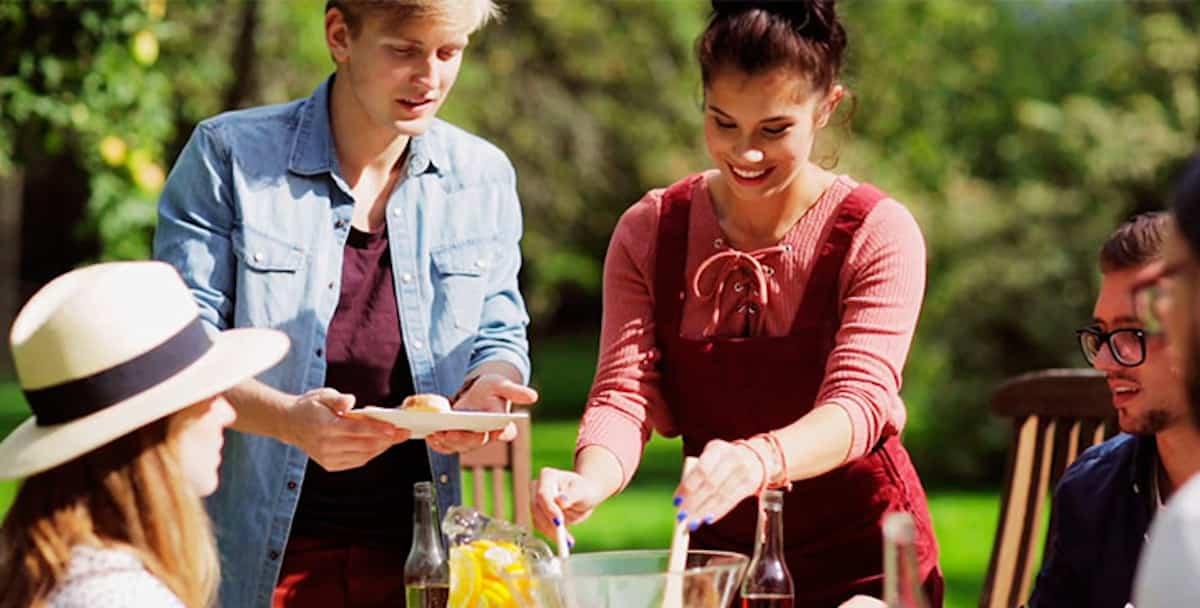 ideas para preparar un comedor de exterior en la terraza 7