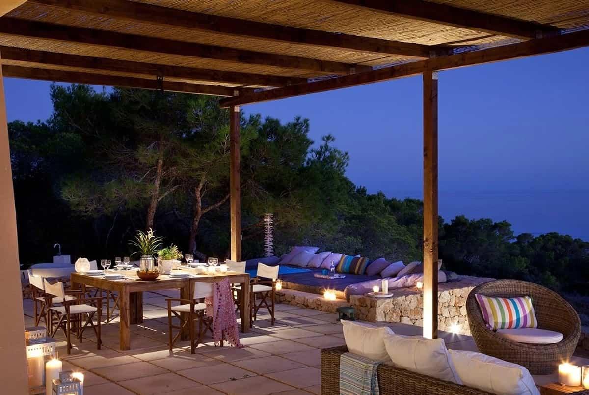 ideas para preparar un comedor de exterior en la terraza 8