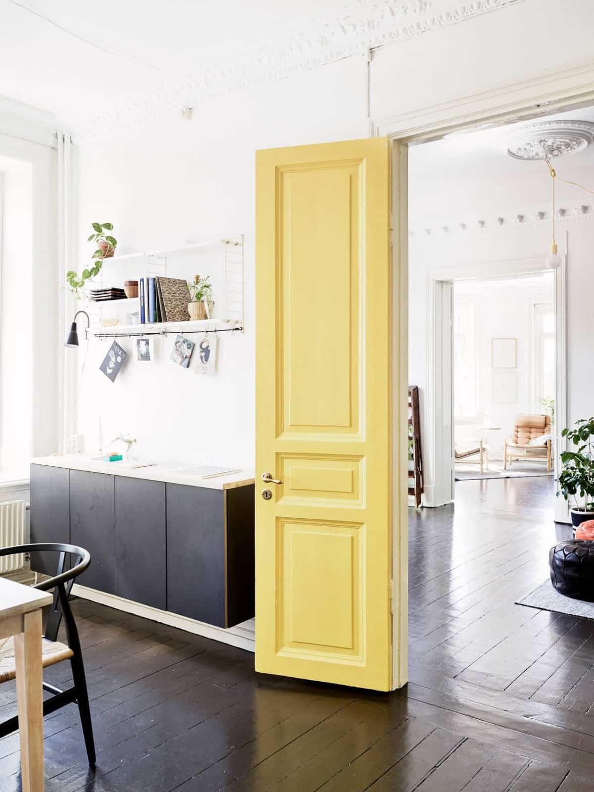 ideas para elegir el color de las puertas de interior 8