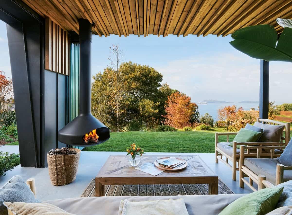 Estufas de exterior para disfrutar de la terraza todo el año